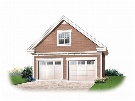 2car Garage Plans  Detached 2car Garage Loft Plan