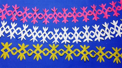 paper cutting border designsathow  easy paper cutting