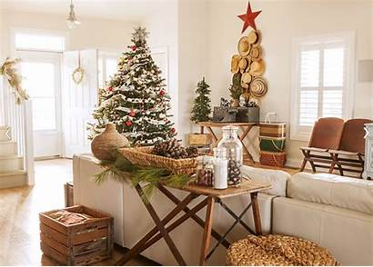 Christmas Merry Decorating Country Rustic