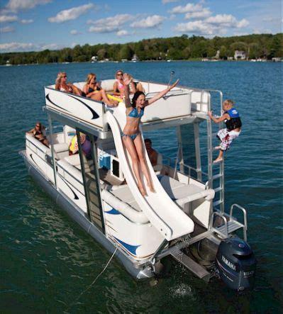 Best Utah Pontoon Boats by Best 25 Pontoon Boat With Slide Ideas On Lake