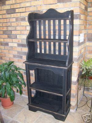 wooden bakers rack pattern  instructions  build
