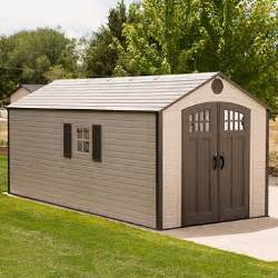 lifetime 8 x 17 5 storage shed sam s club