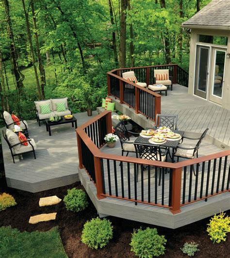 Installing Trex Decking Diagonal by Deck Amusing Synthetic Decking Material Synthetic