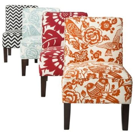 armless accent chairs from target for the home