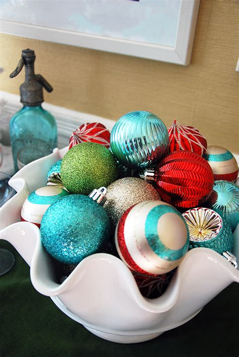 lucky colors christmas decor decorations in teal and mint green