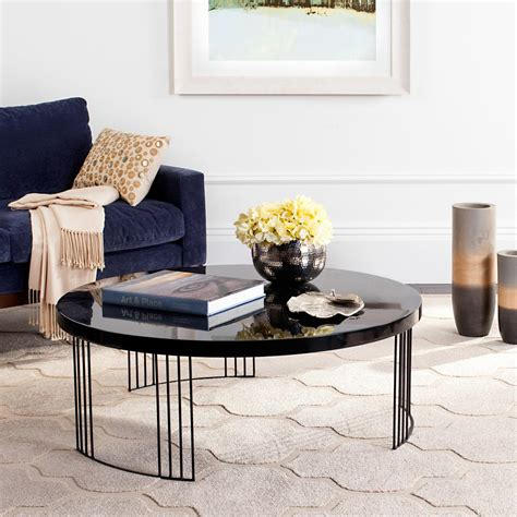 The best way to tie your room together is with a stylish coffee table. Safavieh Anwen Mid Century Geometric Wood Light Gray Coffee Table-FOX4250A - The Home Depot