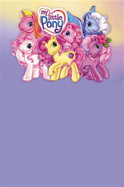 pony invitation personalized party invites