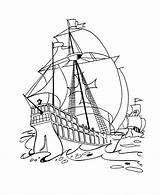 Columbus Coloring Pages Christopher Printables Ships Santa Sheets Maria Ship Usa Pinta Drawing Nina Holiday Activity Printable Colouring Sheet Easy sketch template