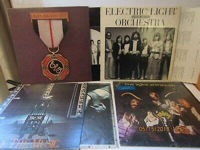 6-ALBUMS-ELECTRIC LIGHT ORCHESTRA-ON THE THIRD DAY ...