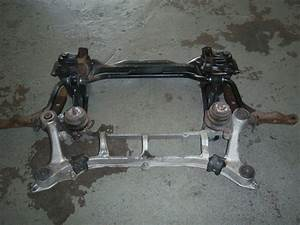 1997 Acura Rl Front Beam Suspension Engine Cradle Sub Frame Control Arm Motor