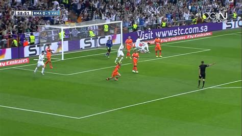 resume valence real madrid r 233 sum 233 bein sports real madrid 2 2 fc valence