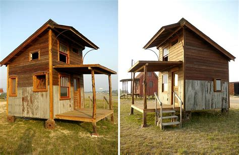 Jetson Green  Pure Salvage Tiny House For Living