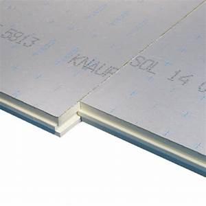 Isolant Sous Chape : isolant sous chape knauf thane 52mm nancy mat riaux de ~ Melissatoandfro.com Idées de Décoration
