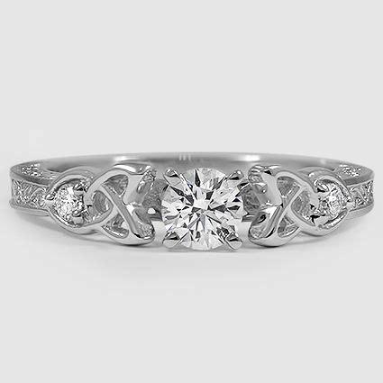 18k white gold aberdeen diamond ring wedding rings