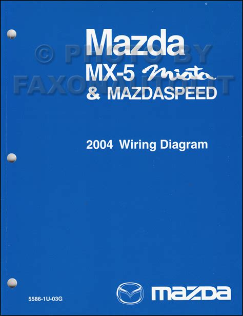 2004 mazda mx 5 miata mazdaspeed wiring diagram manual