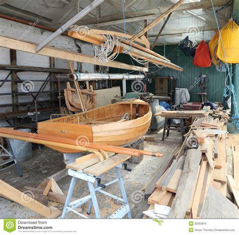 Boat Workshop Plans by Boat Building Workshop Royalty Free Stock Photo Image