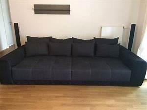 Big Sofa Xxl : big sofa xl xxl couch ein traum schwarz grau 10 monate jung in hanau polster sessel couch ~ Indierocktalk.com Haus und Dekorationen