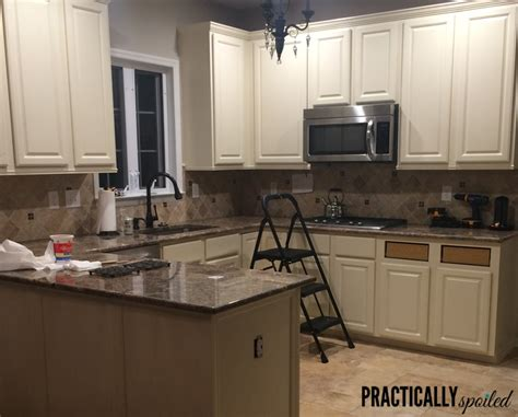 can you paint oak cabinets from to great a tale of painting oak cabinets