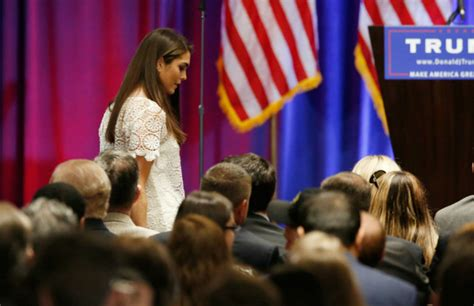 Hope Hicks Communications Trump