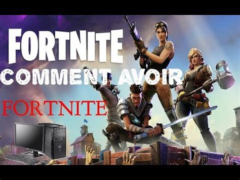 comment installer fortnite sur pc tuto fr  hd