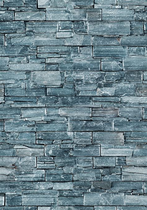 Grey stone wall great half wall for foyer Tiles