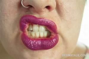 Image Gallery sad lips