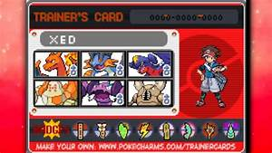 My Trainer Card History Of Poku00e9mon Black And White 2 Youtube