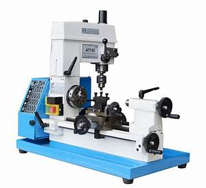 China At125 Mini Metal Lathe For Diy User With Ce Standard