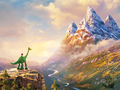 'the Good Dinosaur' Review Boy Meets Beast In Pixar's 16th Feature Variety