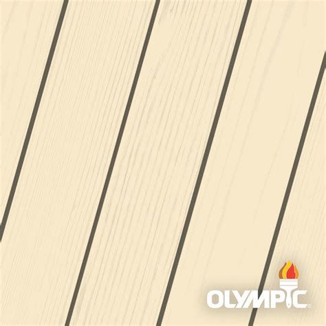 olympic maximum  gal ivory solid color exterior stain