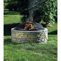 stone fire pit Bunnings Fire Pit – Choose Whatever You Like! | Fire Pit ...