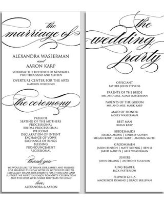 Free Sle Wedding Programs Templates by Deal Alert Wedding Program Template Wedding Program