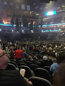 At T Center Section 104 Concert Seating Rateyourseats Com