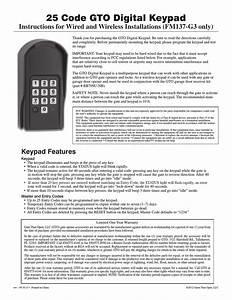 Mighty Mule Fm137 User Manual