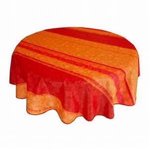 Tischdecke Rund 160 : restposten abwaschbar tischdecke d c fix textiler fall rund 160 lisanne orange ~ Orissabook.com Haus und Dekorationen