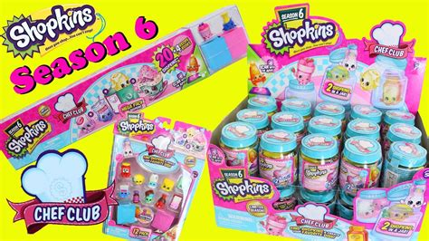 shopkins season 6 chef club opening with color change toys toys