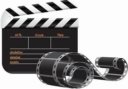 Clip Film Clipart Clapper Production Board Cine
