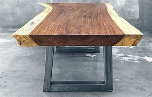 Metal And Woods : parota wood tables custom modern design made in mexico ~ Melissatoandfro.com Idées de Décoration