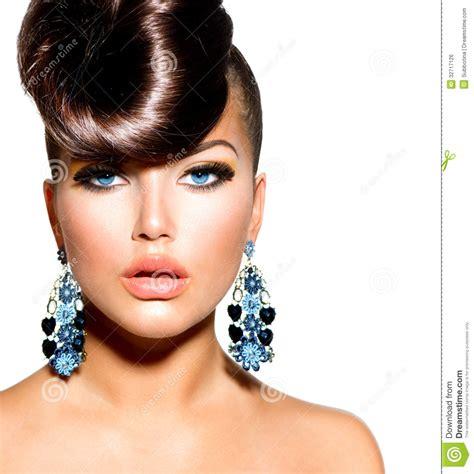 fashion model fashion model portrait royalty free stock image image 32717126