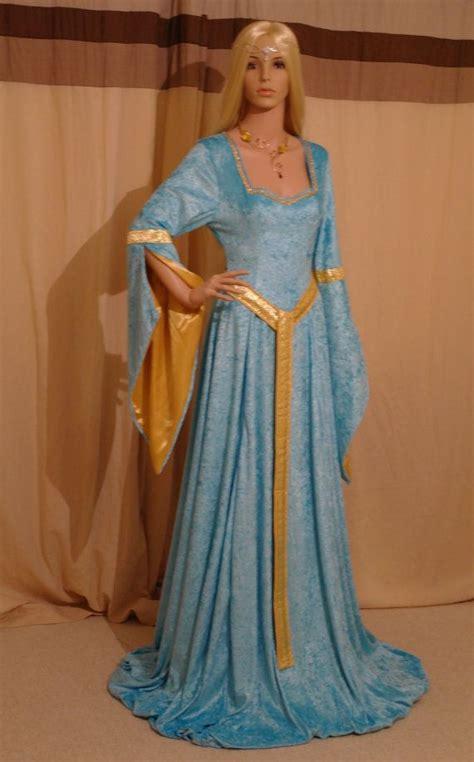 dress elegance elven dress renaissance dress by