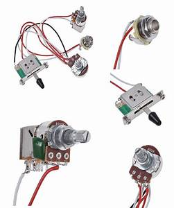 Visit To Buy  Electric Guitar Wiring Harness Prewired Kit