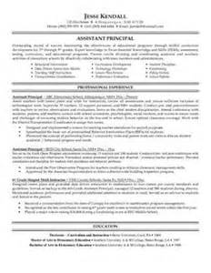 middle school assistant principal resume 1000 ideas about assistant principal on