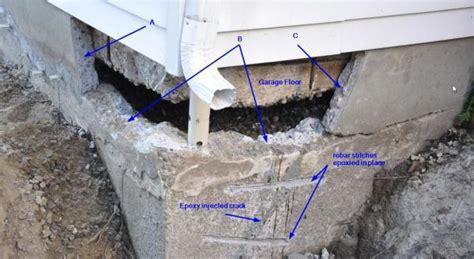 foundation concrete repair rebar dowels adhesive