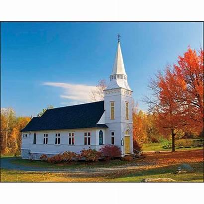 Scenic Churches Calendar Spiral Calendars Custom