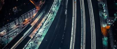 Wallpapers Ultrawide Night 1440 3440 Monitor Commute