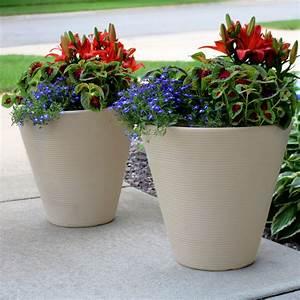 sunnydaze, walter, flower, pot, planter, , outdoor, , indoor, heavy