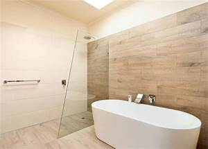 carrelage imitation parquet 50 modeles elegants With revetement murs salle de bain
