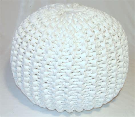 crochet pouf ottoman pattern free pouf pattern lvly