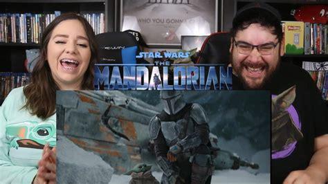 The Mandalorian SEASON 2 - Official Trailer Reaction ...