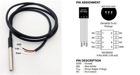 onewire ds18b20 temperature sensor escapequotes